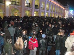 Златоуст и не знает об акциях оппозиции в Москве и Санкт-Петербурге