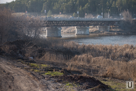 Единственный мост через Исеть