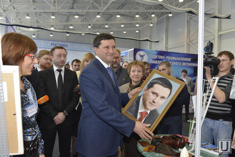 Дмитрий Кобылкин. Губернатор ЯНАО. Ноябрьск, портрет, кобылкин дмитрий