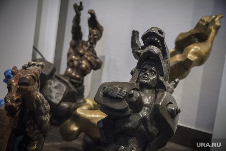 Музей Эрнста Неизвестного за день до открытия