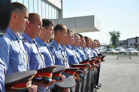 Курганские полицейские отправились на Северный Кавказ.