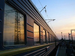 """Несколько вагонов пассажирского поезда  """"Адлер-Новосибирск """" сошли с рельсов в Краснодарском крае, сообщает в..."""