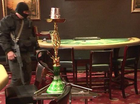 незаконная организация и проведение азартных игр коап