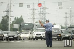 В Челябинске ограничили пешеходные маршруты на время визита Путина
