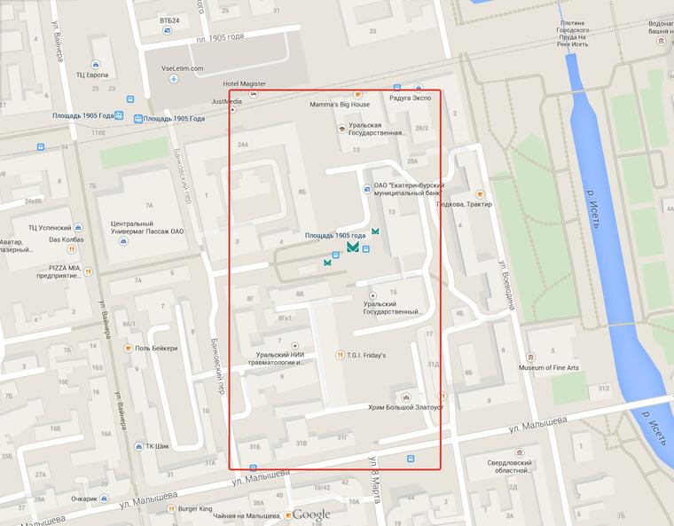 Гугл, а где улица 8 марта?