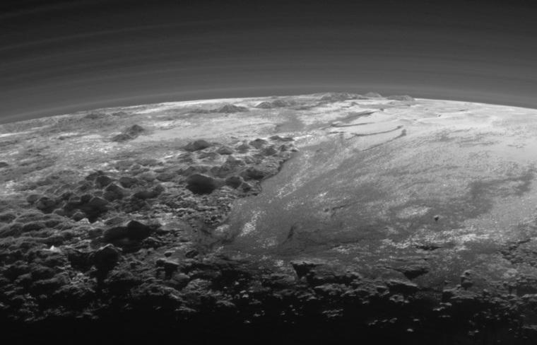 Плутон вблизи