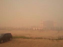 новом уренгое потушить свалку дым окутал город фото