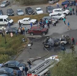 новом уренгое дворе произошел взрыв пострадавшие фото видео