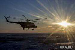 Спасатели достигли точки сбора: начался поиск разбившегося вертолета на Ямале
