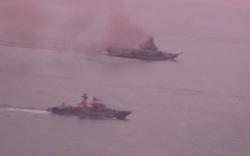 Британские истребители приблизились к российскому авианосцу, преодолевшему Ла-Манш