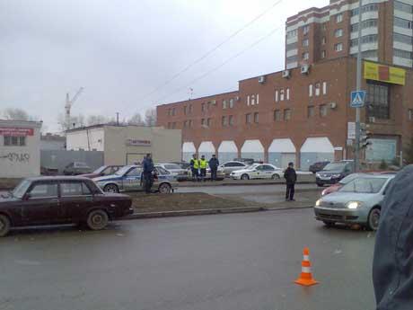 После аварии на официальном