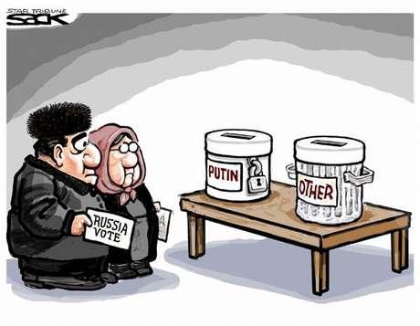 Карикатура путин и лидеры семерки