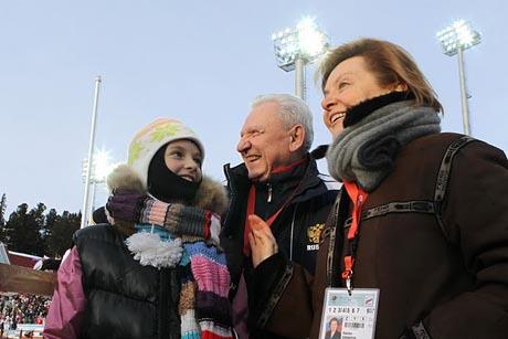 Экс-глава Югры Александр Филипенко оценил Центр зимних видов спорта имени себя.