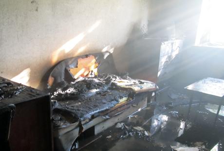 Пожарная тревога. В Зауралье горел дом инвалидов