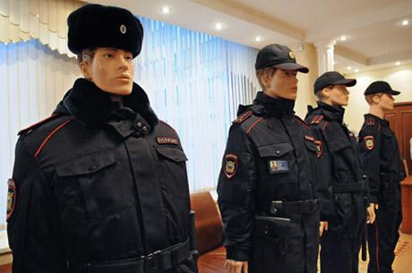 Платье женское зимнее для сотрудников полиции