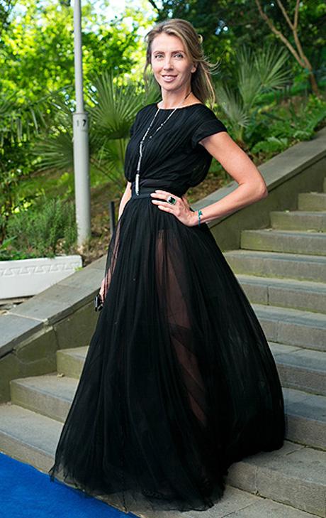 Ксения собчак платье прозрачное
