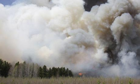 лесные пожары в России 2011. Фото ura.ru