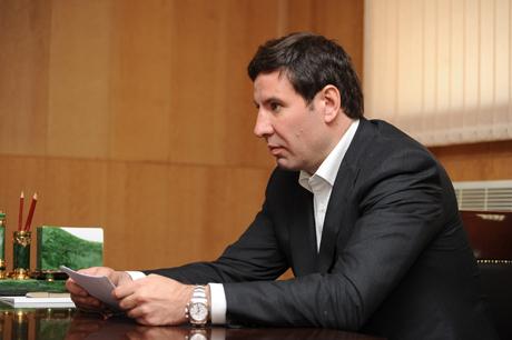 На встрече с президентом рф дмитрием