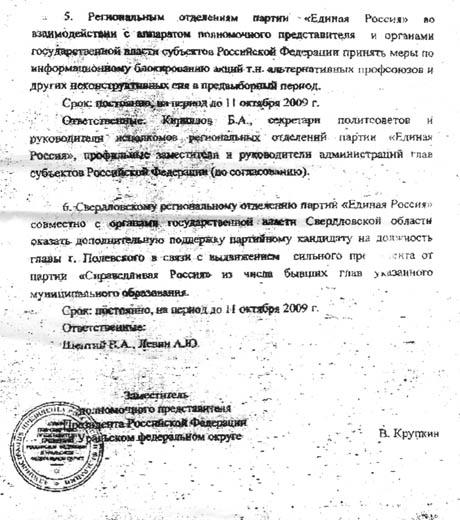 Использование Единой России административного ресурса на выборах